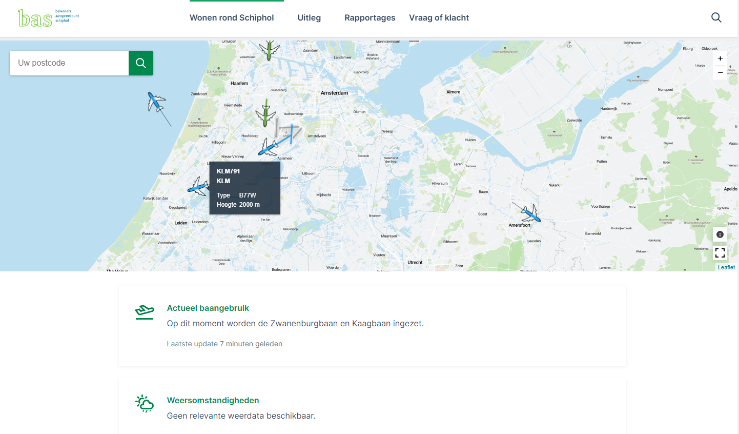 Bewoners Aanspreekpunt Schiphol